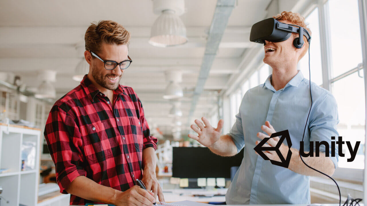 Virtual Reality Image - Unity Logo